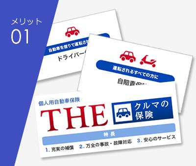 選べる自動車保険プラン